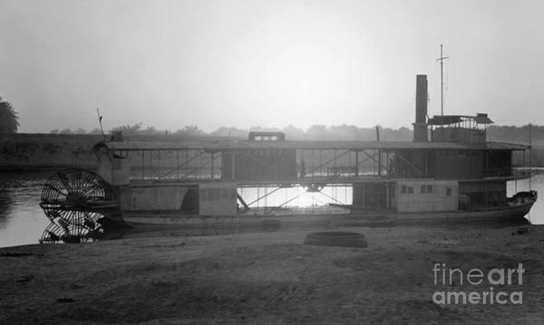 Photograph - Iraq: Riverboat, 1932 by Granger