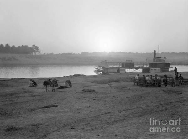 Photograph - Iraq: Sunset, 1932 by Granger
