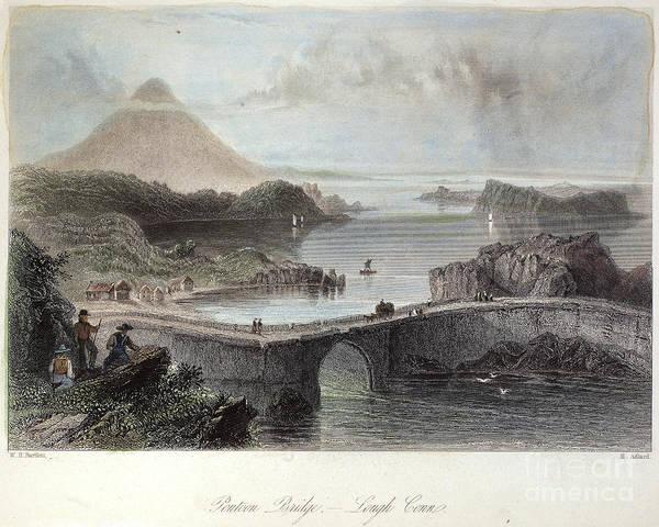 Conn Wall Art - Photograph - Ireland, 19th Century by Granger