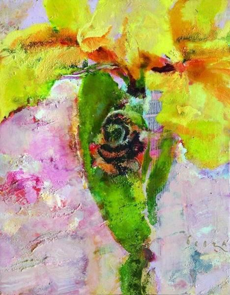Wall Art - Painting - Iris 15 by Petro Bevza
