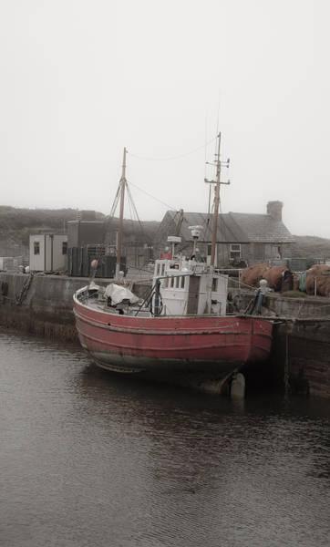 Wall Art - Photograph - Irish Fishing Boat by Patrick  Flynn