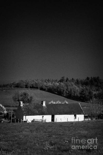 Wall Art - Photograph - Irish Slate Roof Cottage Countryside Rural Ireland by Joe Fox