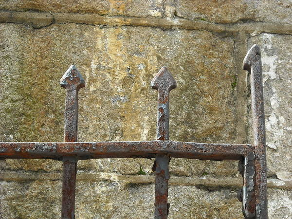 Photograph - Iron Spikes by Christophe Ennis