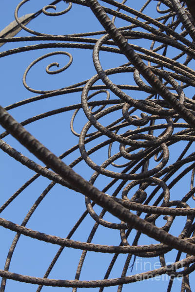 Wall Art - Photograph - Iron Work by Tony Cordoza