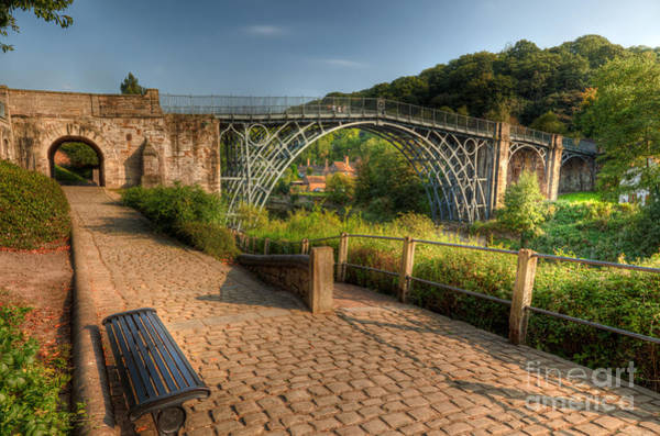 Photograph - Ironbridge England by Adrian Evans