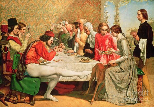 Millais Painting - Isabella by Sir John Everett Millais