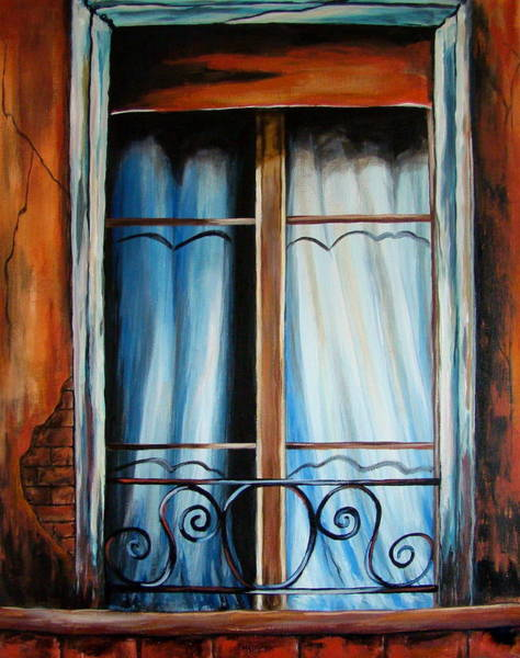 Bergstrom Painting - Isabel's Window by Susan Bergstrom