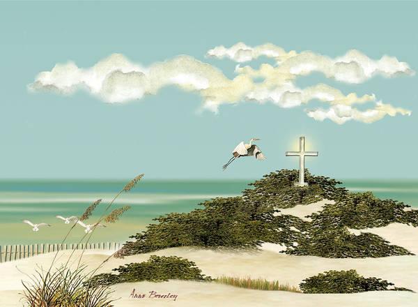 Island Cross Art Print