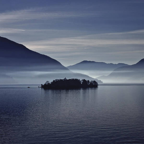 Islands Photograph - Island In Morning Mist by Joana Kruse