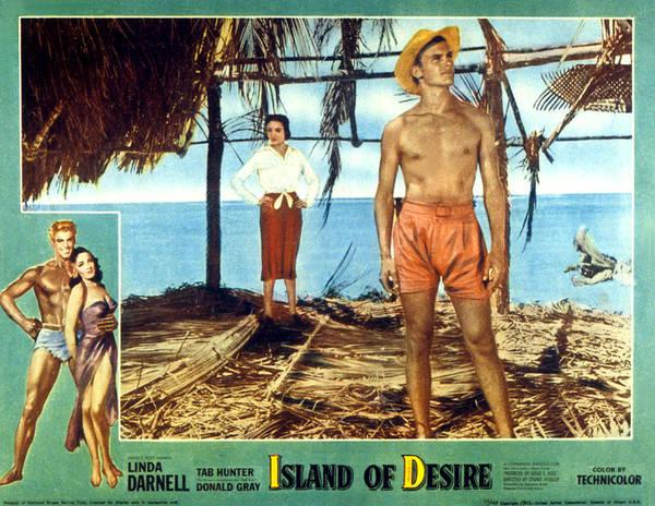 Tab Photograph - Island Of Desire, Linda Darnell, Tab by Everett