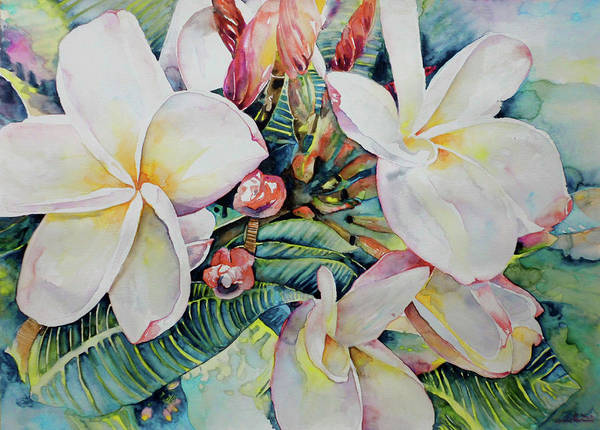 Painting - Islands Beauties by Miki De Goodaboom