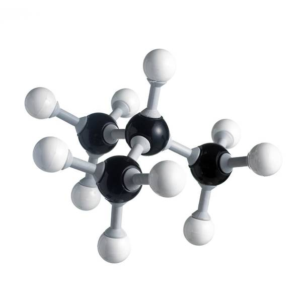 Fuel Element Photograph - Isobutane Molecule by