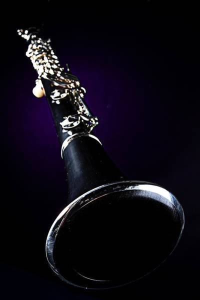 Photograph - Isolated Clarinet by M K Miller