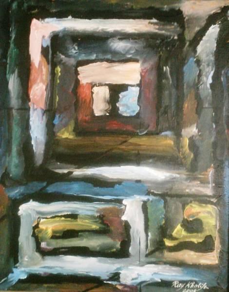 Painting - Isolation by Ray Khalife