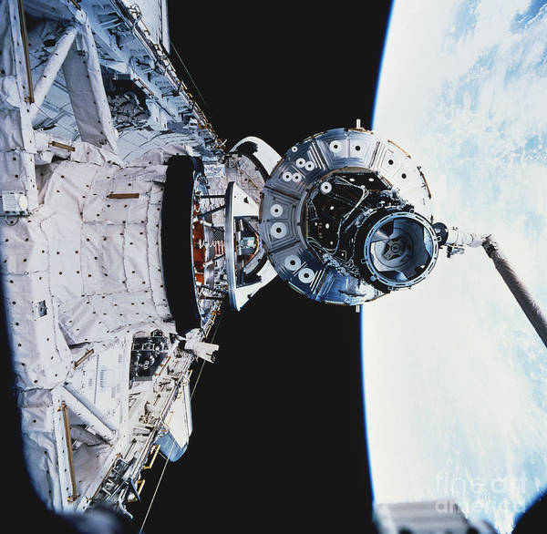 Photograph - Iss Module Unity by Science Source
