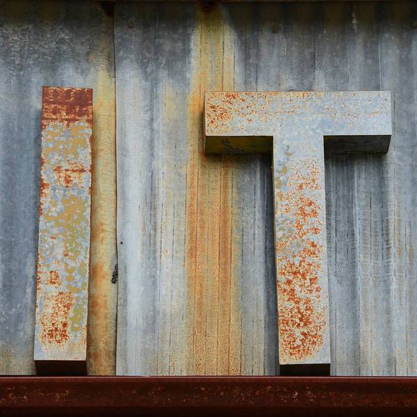 Wall Art - Photograph - It Rusty Sign by Nikki Marie Smith