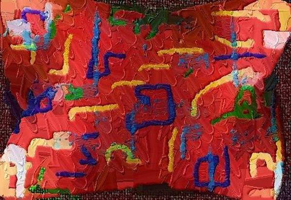 Digital Art - Italian Pillow by Alec Drake
