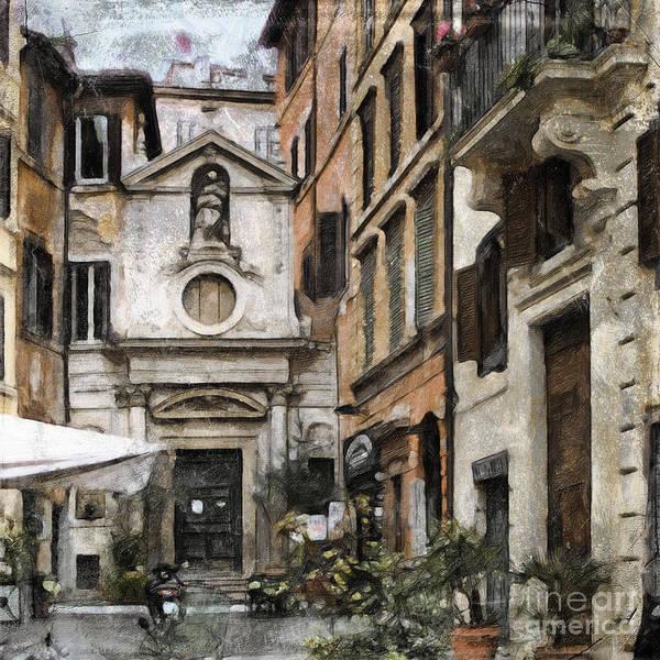 Photograph - Italy Arty by Lutz Baar