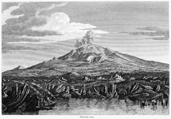 Photograph - Italy: Mount Etna, 1810 by Granger