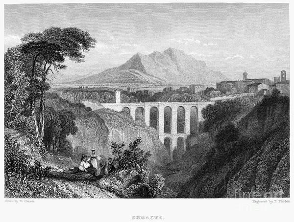 Photograph - Italy: Soracte, 1832 by Granger