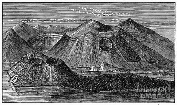 Photograph - Italy: Volcano, 1887 by Granger