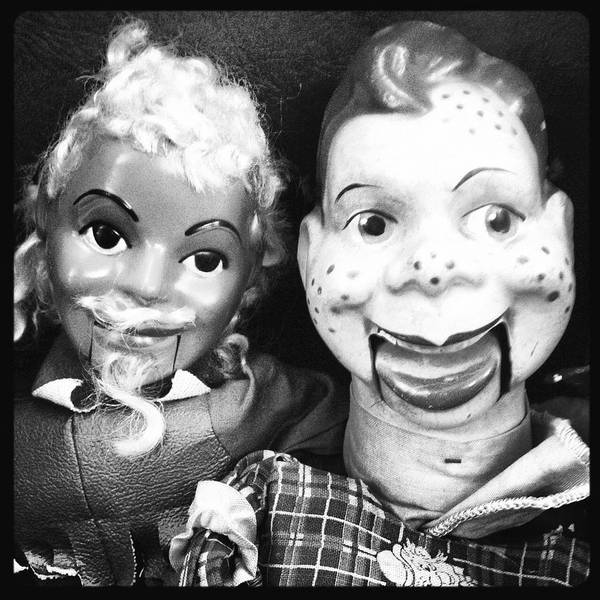 Photograph - It's Howdy Doody Time by Lora Mercado