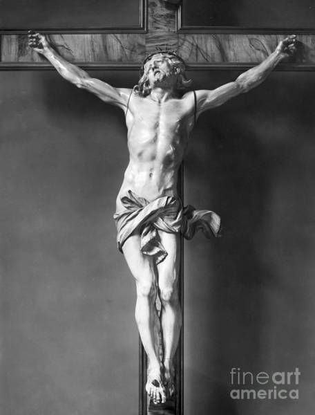 Wall Art - Photograph - Ivory Crucifix by Granger