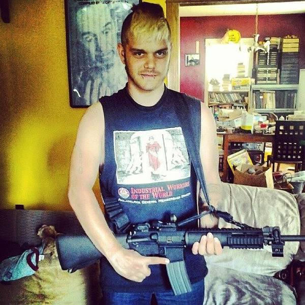 Guns Photograph - #iww #gunclub #ar15 #carlin #guns by Eric A. Antifa