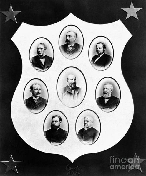 Membership Photograph - J.a. Garfield: Cabinet by Granger