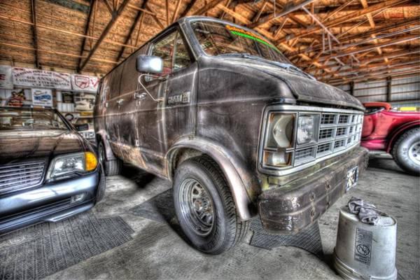 Plymouth Rock Photograph - Jack Black's School Of Rock Van by Nicholas  Grunas