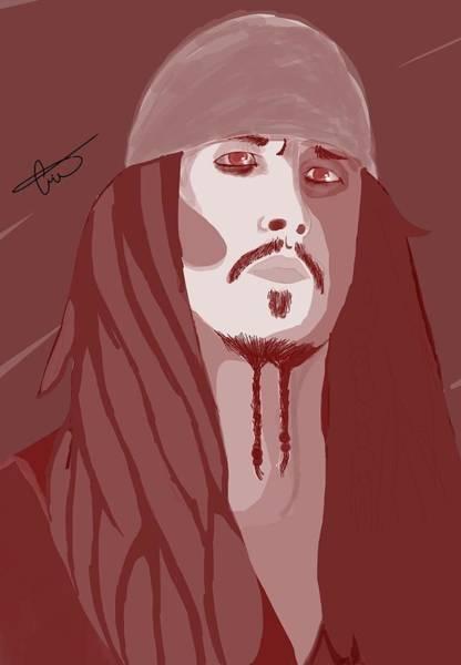 Pirates Of The Caribbean Digital Art - Jack Sparrow by Michelle Cruz