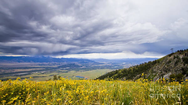 Wall Art - Photograph - Jackson Hole Rain Clouds by Dustin K Ryan