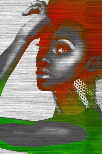 African American Woman Wall Art - Photograph - Jada by Naxart Studio
