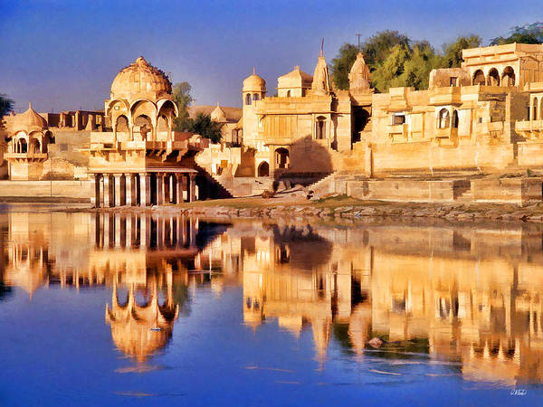 Painting - Jaisalmer Rajasthan by Dean Wittle