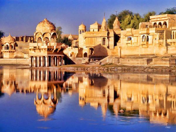Jaisalmer Rajasthan Art Print
