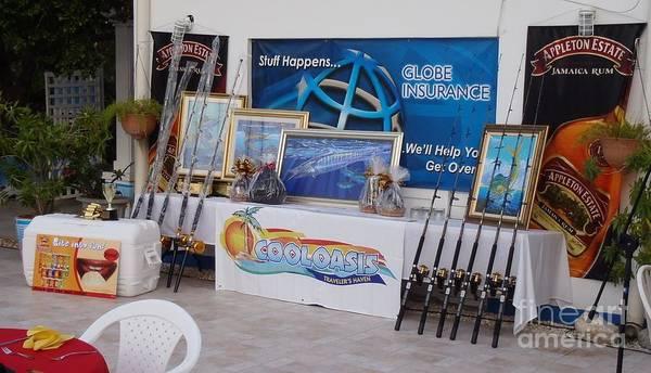 Bbc Painting - Jamaica Tournament Trophies by Carey Chen