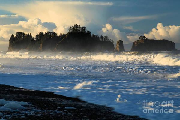 Photograph - James Island Storm by Adam Jewell