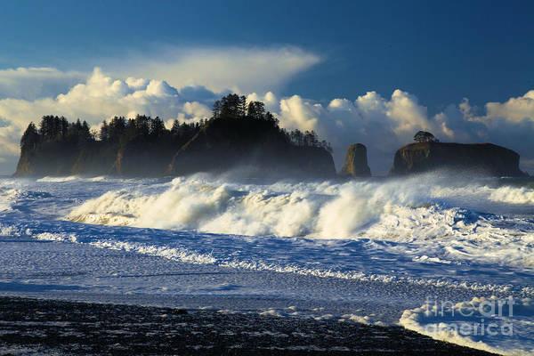Photograph - James Island Surf by Adam Jewell