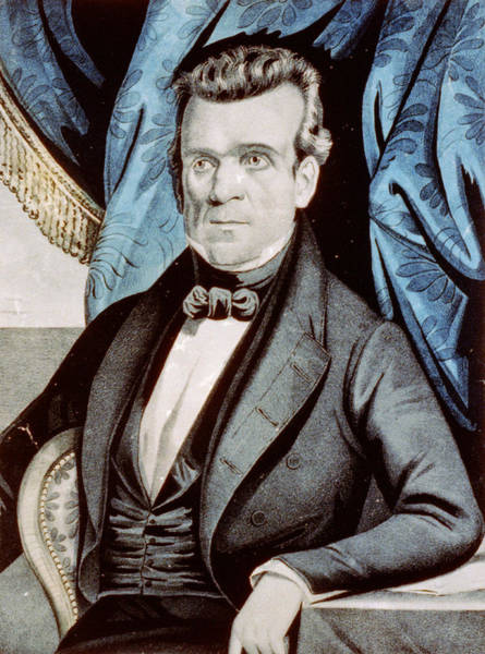 Wall Art - Photograph - James Polk - President Of The United States by International  Images