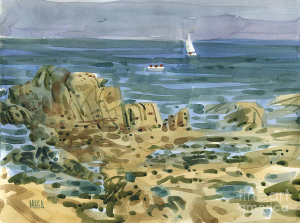Forty Painting - James's View by Donald Maier