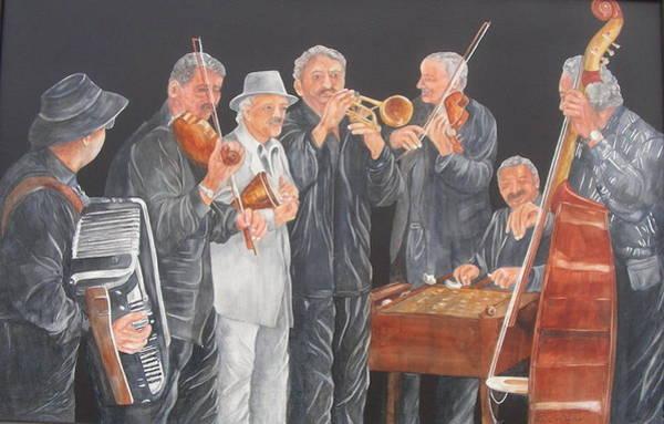 Painting - Jammin' by Paula Robertson