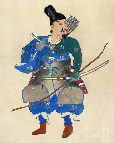 Photograph - Japan: Archery by Granger