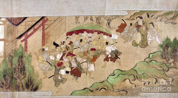 Feudal Japan Wall Art - Photograph - Japan: Peasants, C1575 by Granger