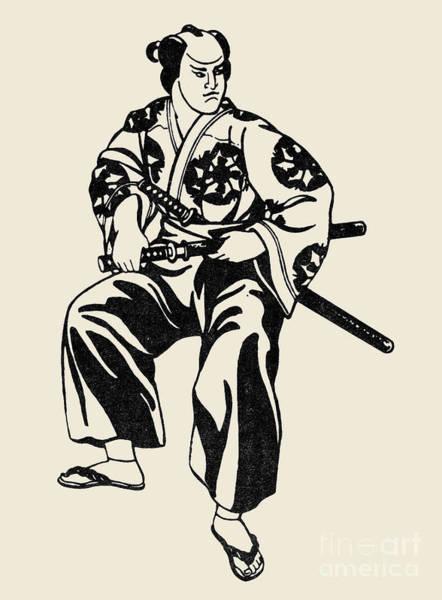 Photograph - Japan: Samurai by Granger