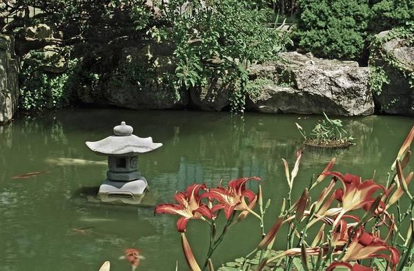 Belle Isle Photograph - Japanese Garden Belle Isle by Michael Peychich
