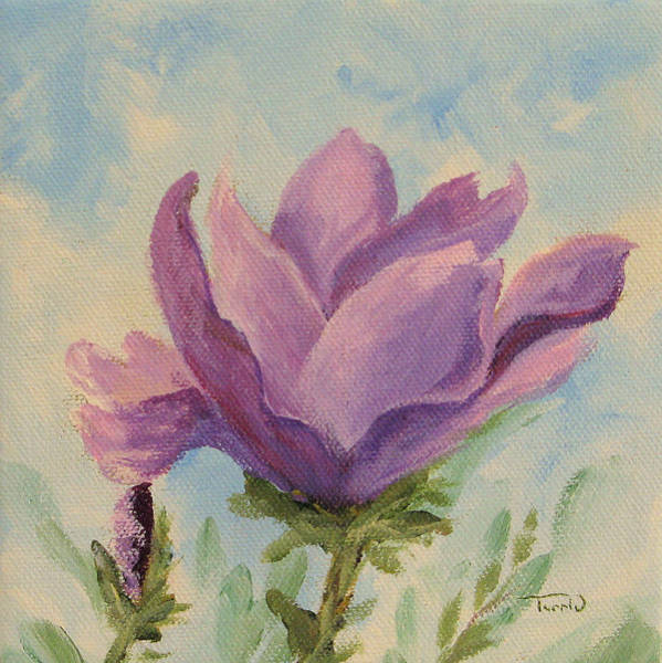Flower Wall Art - Painting - Japanese Magnolia by Torrie Smiley