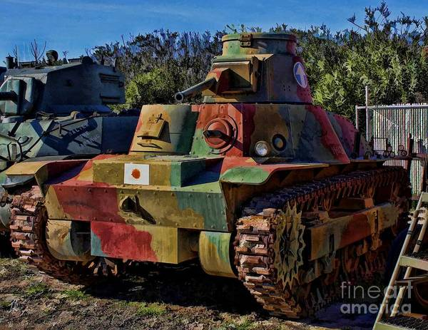 Wall Art - Photograph - Japanese Tank by Tommy Anderson