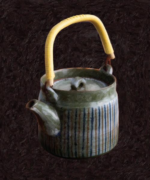 Digital Art - Japanese Teapot by Ari Salmela