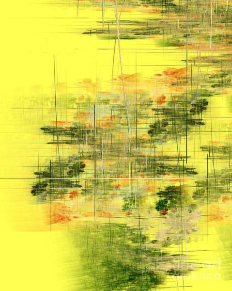 Wall Art - Digital Art - Serene Scene I by Richard Ortolano