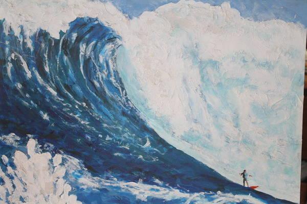 It Professional Painting - Jaws Peahi Maui Hawaii by Giorgia Piekarski